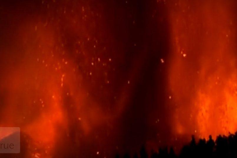 Volcano erupts on Spanish Canary Island of La Palma: Watch Video