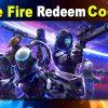 Garena Free Fire Redeem Codes Today October 25, 2021