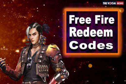 Garena Free Fire Redeem Codes Today October 28, 2021