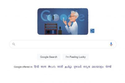 Google Doodle honours the legacy of Otto Wichterle for inventing soft contact lenses