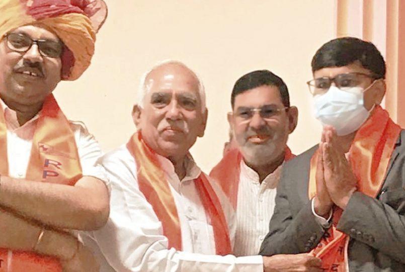 Manoj Tiwari elected as the treasurer of Haryana State Parashuram Council