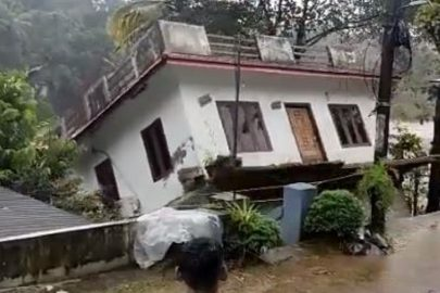 Watch: House drowns in Kerala flash floods, video of nature's fury goes viral