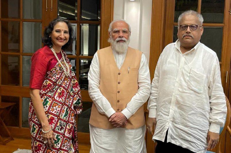 PM Modi briefly meets 'India's own Warren Buffet' Rakesh Jhunjhunwala, showers praise while sharing pic